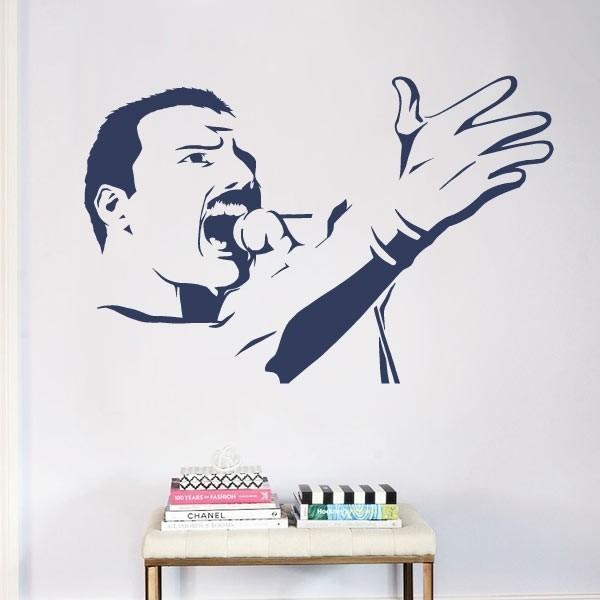 Vinil decorativo Freddie Mercury