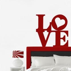 Vinil de letras love