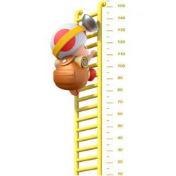Autocolante medidor de criança Toad