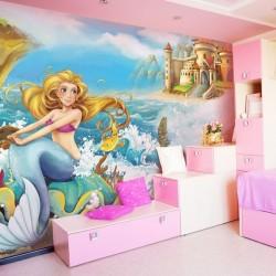 Mural de parede sereia