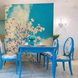 Mural árvore com flor 1