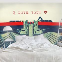 Foto mural máquina de escrever