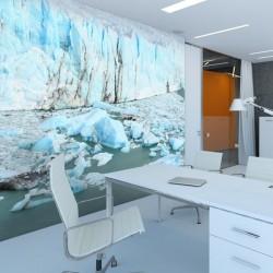 Foto mural glaciares de...