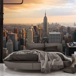 Mural panorâmica de Nova York