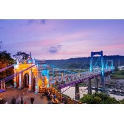 Papel de parede ponte de Daxi