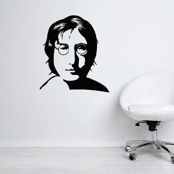 Vinil decorativo John Lennon