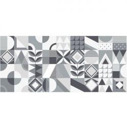 Azulejos modernos em branco e negro