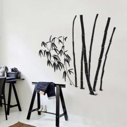 Adesivo de parede bambu 2