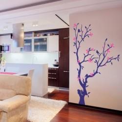 Vinil decorativo árvore 6