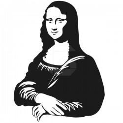 Vinil decorativo Mona Lisa