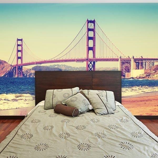 Foto mural ponte Golden Gate