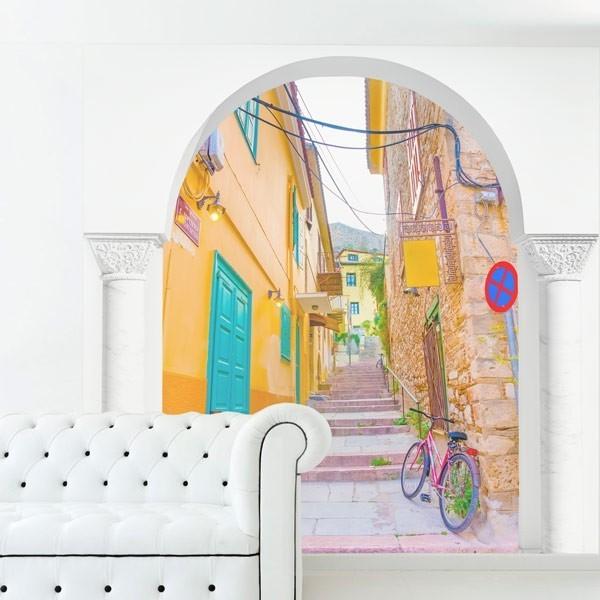 Mural ilusão ótica de rua