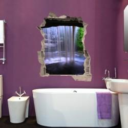 Vinil de ilusão ótica cascata