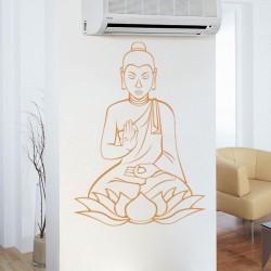 Autocolante de parede budismo