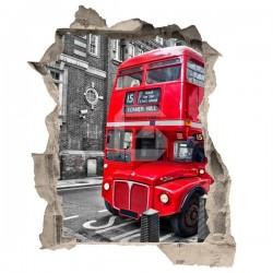 Autocolante decorativo autocarro