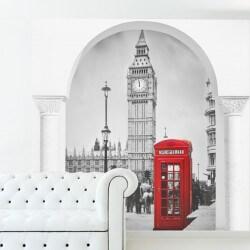 Vinil de ilusão ótica Londres