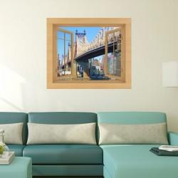 Vinil janela ponte Queensboro