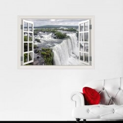 Vinil janela cascatas Niagara