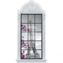 Autocolante janela Torre Eiffel