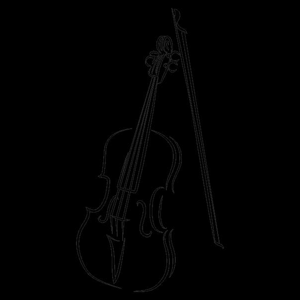 Violino Vinis Decorativos Papel De Parede E Textos Em Vinil