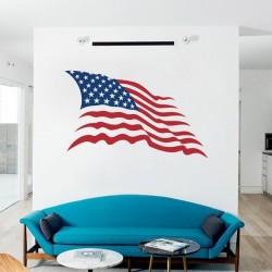 Vinil bandeira Estados Unidos