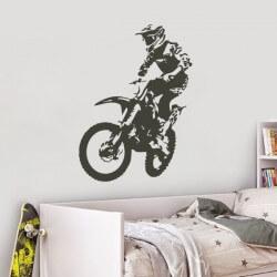 Vinil decorativo motocross