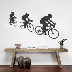 Vinil de deporto ciclistas