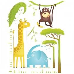 Adesivo animais da selva