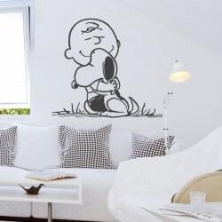 Vinil Snoopy e Carlinhos