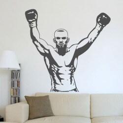 Vinil decorativo boxeador