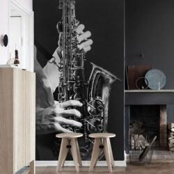 Papel de parede saxofone jazz