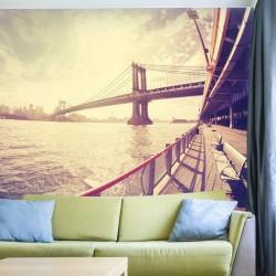 Foto mural ponte de Manhattan
