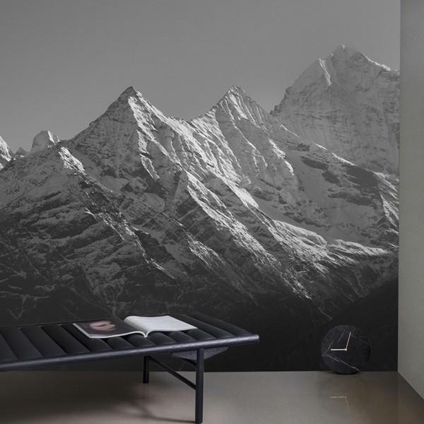 Papel pintado Monte dos Pirinéus