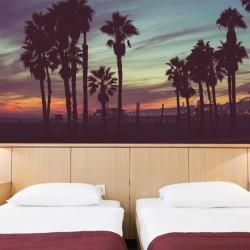 Mural de parede noites de Ibiza