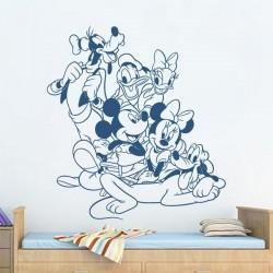 Vinil amigos Mikey Mouse