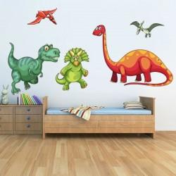 Vinil infantil dinossauros