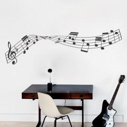 Vinil de notas musicais 5