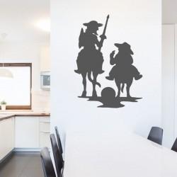 Vinil decorativo Dom Quixote