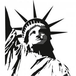 Autocolante Estátua da Liberdade 2