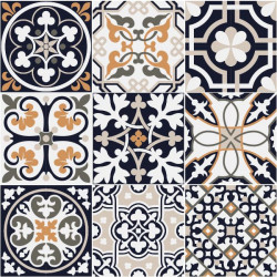 Autocolantes azulejos