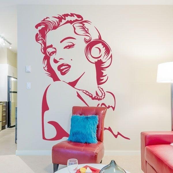 Adesivo Marilyn Monroe 1