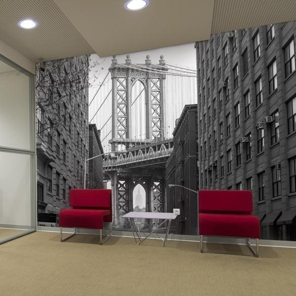 Mural de parede ponte de Brooklyn 2