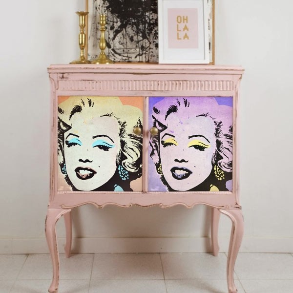 Vinil móveis fotos Marilyn Monroe