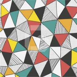 Vinil para sapateira arte geométrica