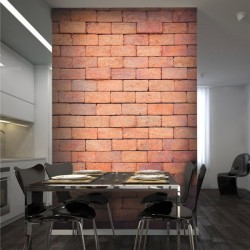 Foto mural parede de tijolo...