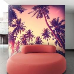 Mural de parede palmeiras 1