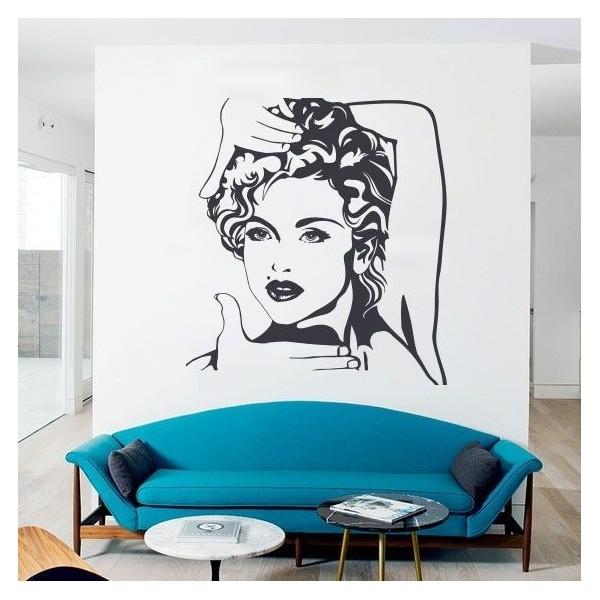 Vinil decorativo Madonna