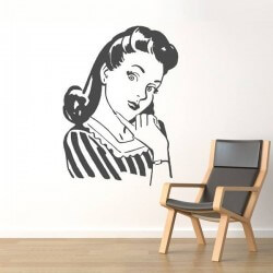 Vinil mulher dos anos 60