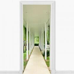 Vinil decorativo corredor...