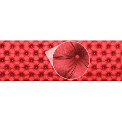 Mural de parede chester vermelho